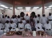 """نادي الحي بمدرسة الأمير سعود بن جلوي يختتم برنامج """"ضع بصمتك"""""""