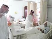 """بالصور .. بحضور """"الأحساء نيوز"""" مستشفى الملك عبدالعزيز يرسم البسمة على شفاه المرضى"""