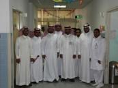 فريق فنار التطوعي يعايد مرضى مستشفى الملك فهد بالهفوف