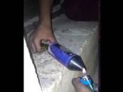 بالفيديو .. انفجار ألعاب نارية في وجهي طفلين بالسعودية