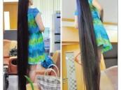 صينية تبيع شعرها بـ6500 دولار للتبرع للأطفال الفقراء