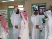 """""""بالغنيم"""" يفتتح اليوم الدراسي الأول في مدرسة الإمام جعفر الصادق"""