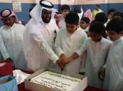 """بحضور """"بالغنيم"""".. متوسطة الأمير سلمان بن عبدالعزيز تحتفي بطلابها الجدد"""