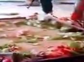 """بالفيديو .. حرق""""قبر صدام"""" يشعل المواجهات المسلحة في العراق"""