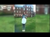 """بالفيديو … """"تحدي الثلج"""" يخلع فك فتاة"""