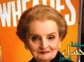 مادلين أولبرايت على غلاف علب رقائق الذرة (الكورن فليكس)