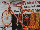 بالصور .. أغلى دراجة هوائية في العالم معروضة للبيع في دبي بـ3 مليون دولار