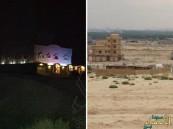 """بالصور … """"الظلام وروائح الأحواش"""" يحاصران حي الصفا شمال المبرز"""