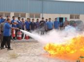(السلامة أولاً) في المعهد الصناعي الثانوي الاول بالاحساء