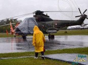 الأحوال الجوية تعلق عملية البحث في موقع تحطم الطائرة الماليزية