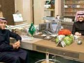 الوليد بن طلال يودع سامي الجابر برسالة خاصة