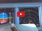 بالفيديو… طيار سعودي على ارتفاع 40 ألف قدم يستمع إلى شيلة