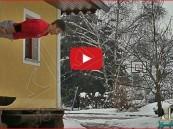 بالفيديو… شاب يقفز بمهارة من النوافذ و الأماكن الغريبة