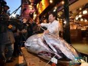 """ياباني يشتري سمكة """"تونة"""" عملاقة ب 4.5 مليون ين"""