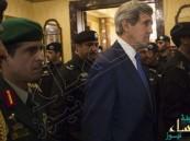 تغريم وزير الخارجية الأمريكي 50 دولاراً أثناء زيارته للسعودية مع أوباما