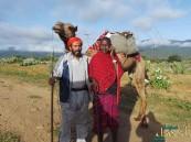 """بالصور .. رحالة يمني يصل قمة كليمنجارو بـ""""الجمل"""""""