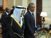 """بالصور… """"قصر عرقة"""" يحظى بانبهار مرافقو """"أوباما"""" أثناء زيارته للرياض"""