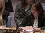 بالفيديو… امرأة تمثل المملكة للمرة الأولى في مجلس الأمن