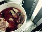 """بالصور… في """"الأحساء"""" إغلاق مطعم شهير يخلط """"البول"""" بالزيت و الدجاج بالدماء"""