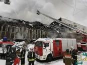 حريق يلتهم مليون وثيقة في أكبر مكتبة جامعية بروسيا