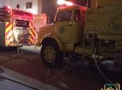 مدني الأحساء ينقذ عائلة من حريق بحي القادسية