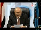 بالفيديو… أول ظهور للمخلوع صالح ويناشد القمة العربية بوقف القصف والعودة للحوار