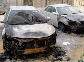 """""""الشقيق"""" تُمسى بحريق سيارتين وشرطة الأحساء تبحث """"الأدلة جنائية"""""""