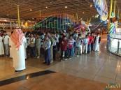 450 طالب من مدرسة قرطبة الابتدائية في العثيم