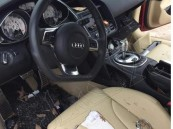 مواطنة تحطم سيارة زوجها وتشوهها بسبب خيانته لها