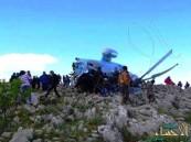 بالفيديو… سقوط مروحية للنظام السوري وأسر طاقمها وإعدام أحدهم
