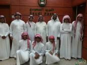 """طلاب """"أجنادين"""" الثانوية بالأحساء يسجلون إعجابهم بالبريد السعودي"""
