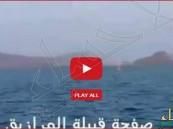 """شاهد أول """"فيديو"""" لضربات البحرية المصرية للحوثيين بعدن"""