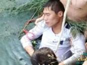 بالصور… شاب صيني يقدم على الانتحار في حفل زفافه