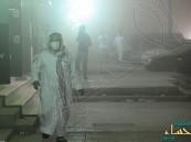 بالصور.. موجة غبار تضرب محافظة #الأحساء والمنطقة #الشرقية بشكل عام