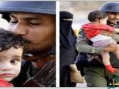 بعد انتشارها بقوة.. رجل الأمن السعودي يروي قصة صورته الحانية مع الطفل اليمني