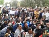 بالفيديو… مظاهرات واسعة في الأحواز وقوات الأمن الإيرانية تفشل في السيطرة عليهم