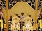 بالصور… زفاف أسطوري للابن الأصغر لسلطان بروناي