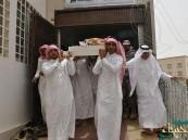 بالصور… تشييع الشهيد عبدالرحمن الشواطي وطائرة خاصة تنقل أسرته إلى عسير