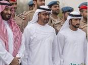 """محمد بن سلمان ومحمد بن زايد يتفقَّدان قوات """"إعادة الأمل"""" بالطائف"""
