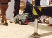 """بالصور… فريق """"عون"""" التطوعي يعثُر على جثة """"الزهراني""""بعد فشل """"الدفاع المدني"""""""