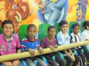 """رحلة ترفيهية لطلاب """"الغزالي"""" الابتدائية في """"قرية الألعاب"""""""