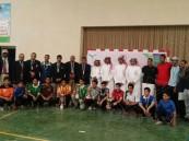 اختتام بطولة كرة الطاولة لمدارس المرحلة المتوسطة والثانوية
