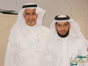 """المحكمة العامة بالجفر تحتفل بالموظف """"أحمد الشامي"""""""