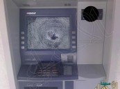 القبض على مجهول يحطم شاشات الصرّافات الآلية