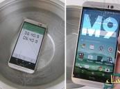 بالفيديو… ماذا يحدث عند وضع هاتف HTC One M9 في الماء