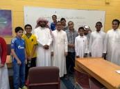 """متوسطة """"الملك عبدالعزيز"""" تنفذ مسابقة """"أولمبياد الرياضيات"""""""