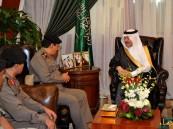 أمير المنطقة الشرقية يستقبل مدير الأمن العام