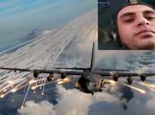 شاهد.. اللحظات الأخيرة لطيار سوري يستمتع بإلقاء البراميل المتفجرة قبل إسقاط طائرته