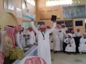 رئيس مركز الخن يرعى حفل ختام الأنشطة الطلابية