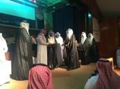 ثانوية الملك خالد تحتفل بتخريج الدفعة الأربعون من طلابها